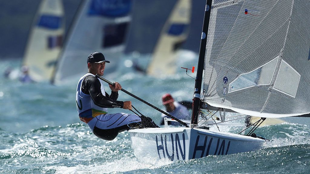 Hungarian Sailor Zsombor Berecz Wins the Finn Gold Cup in Denmark post's picture