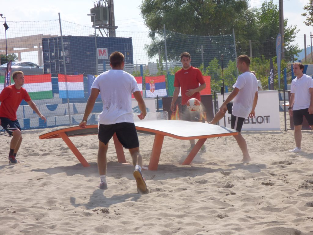 Hungary Takes First Place in the International Teqball Tournament post's picture