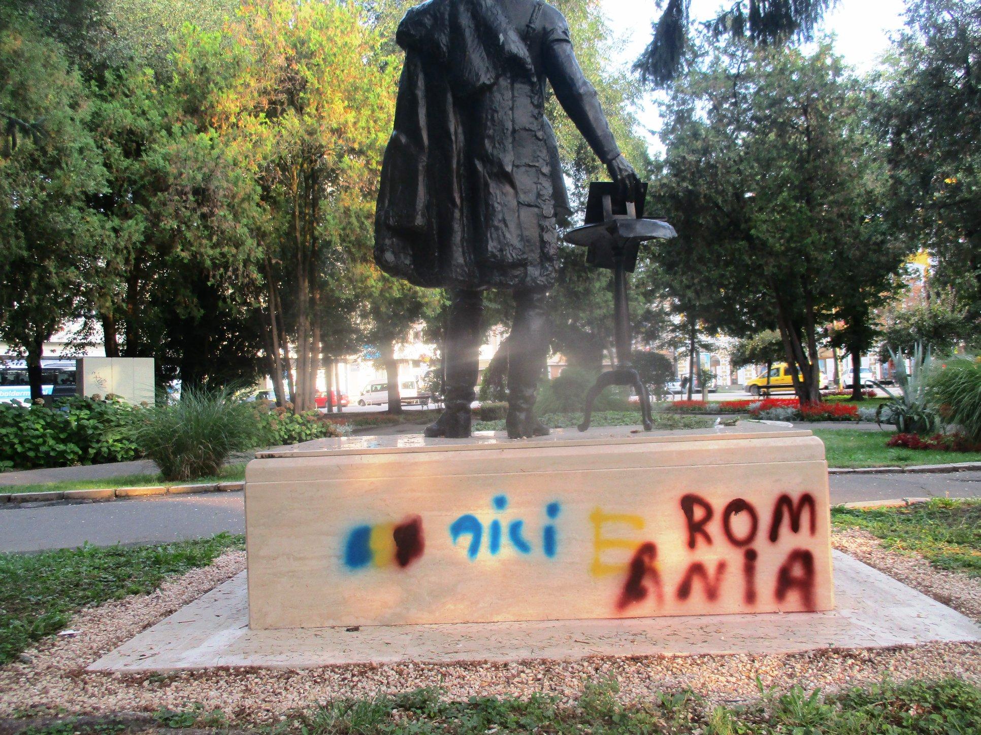Széchenyi statue desecrated in Romania post's picture