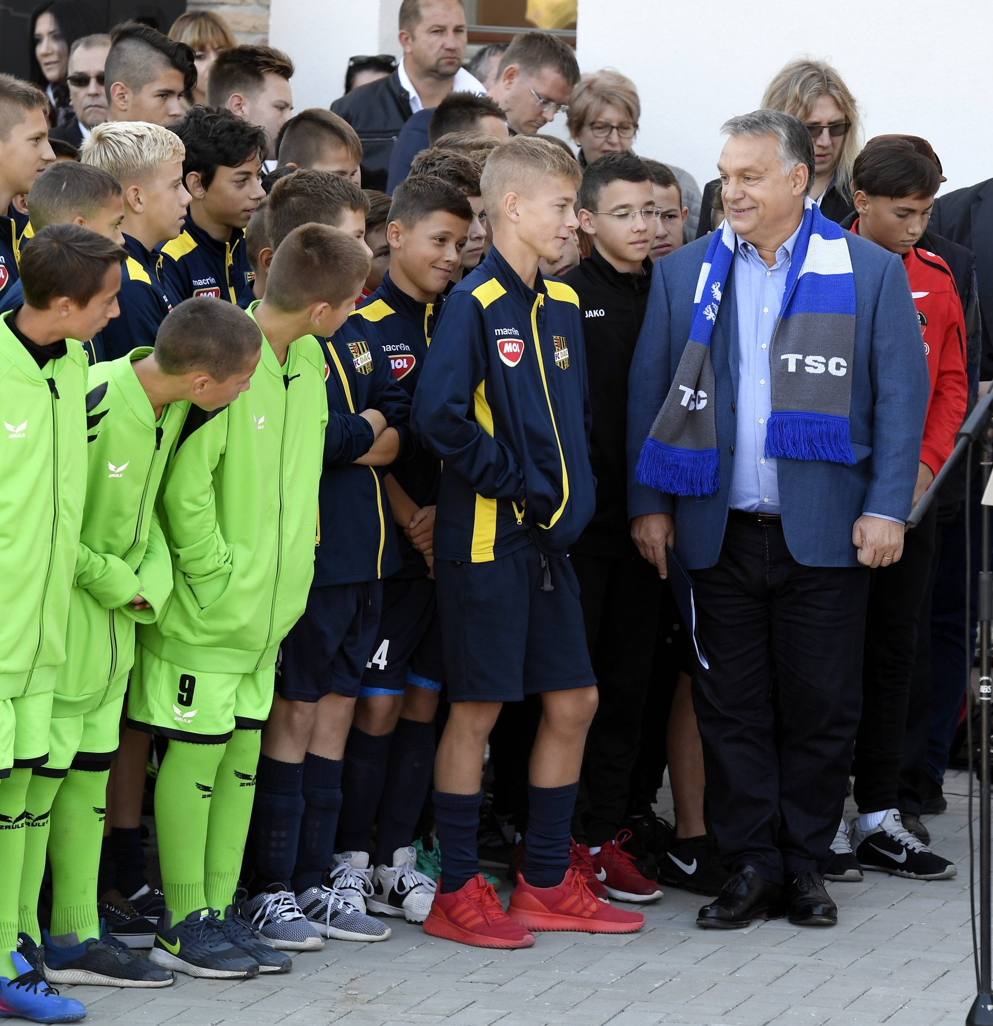 Orban Opens Football Academy in Vojvodina post's picture