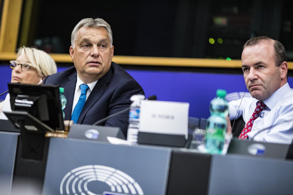 Manfred Weber and Fidesz in the European Parliament post's picture