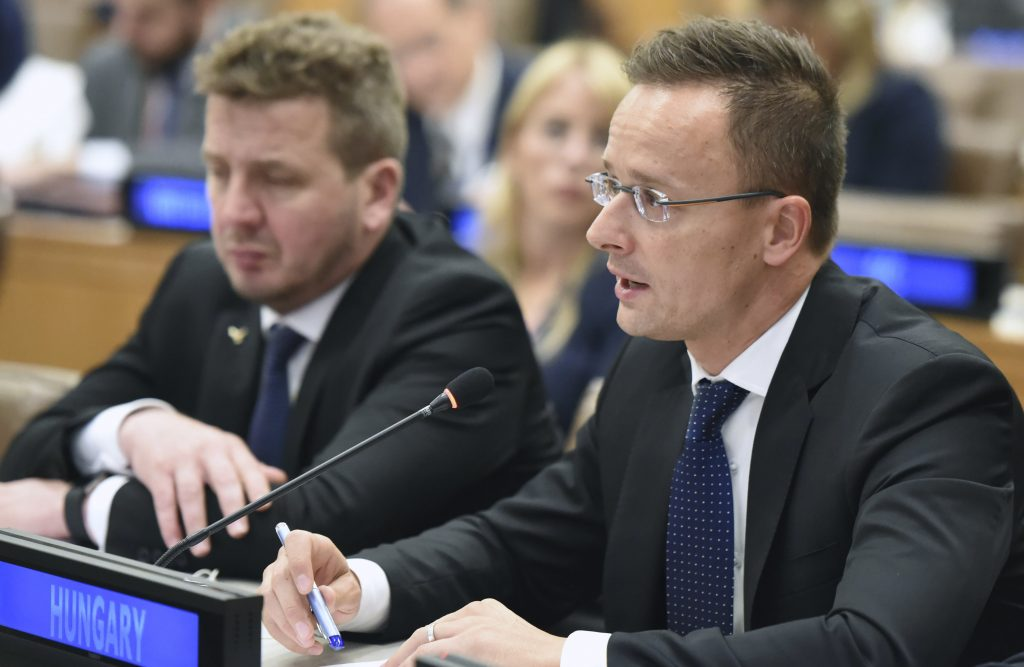 Szijjártó: EC for Migration Goes Against Will of Member States post's picture