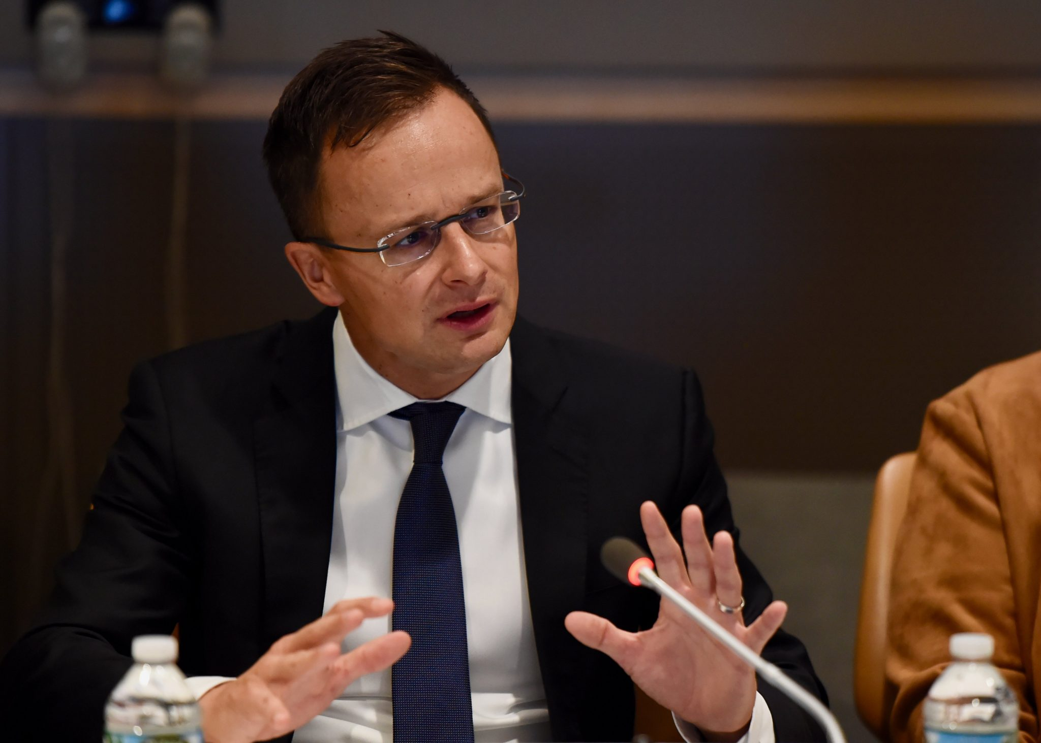 Foreign Minister: Swedish PM 'Forcing Migrants' on Hungary post's picture
