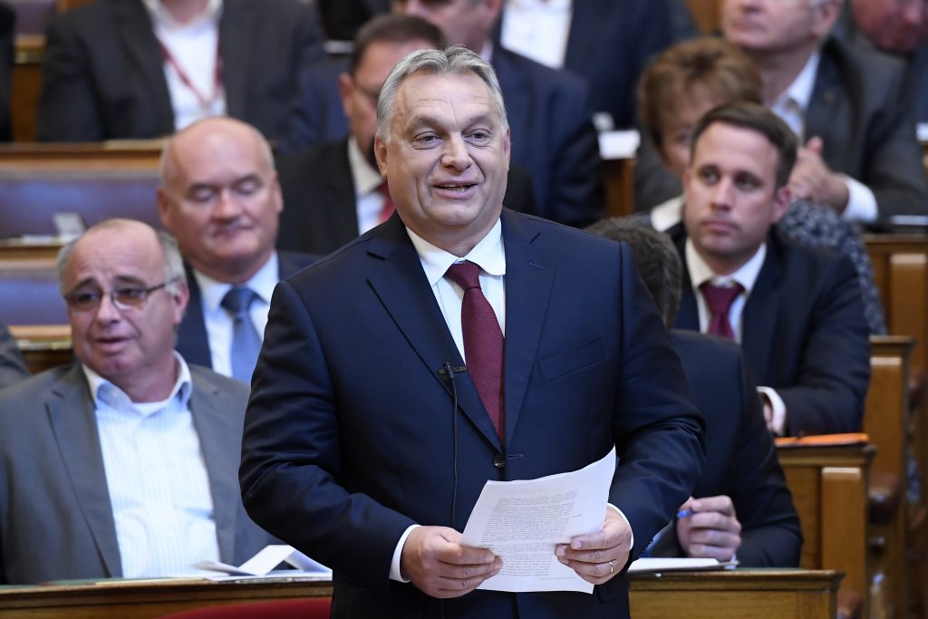 Opposition Parties Blast Orbán's Opening Speech post's picture