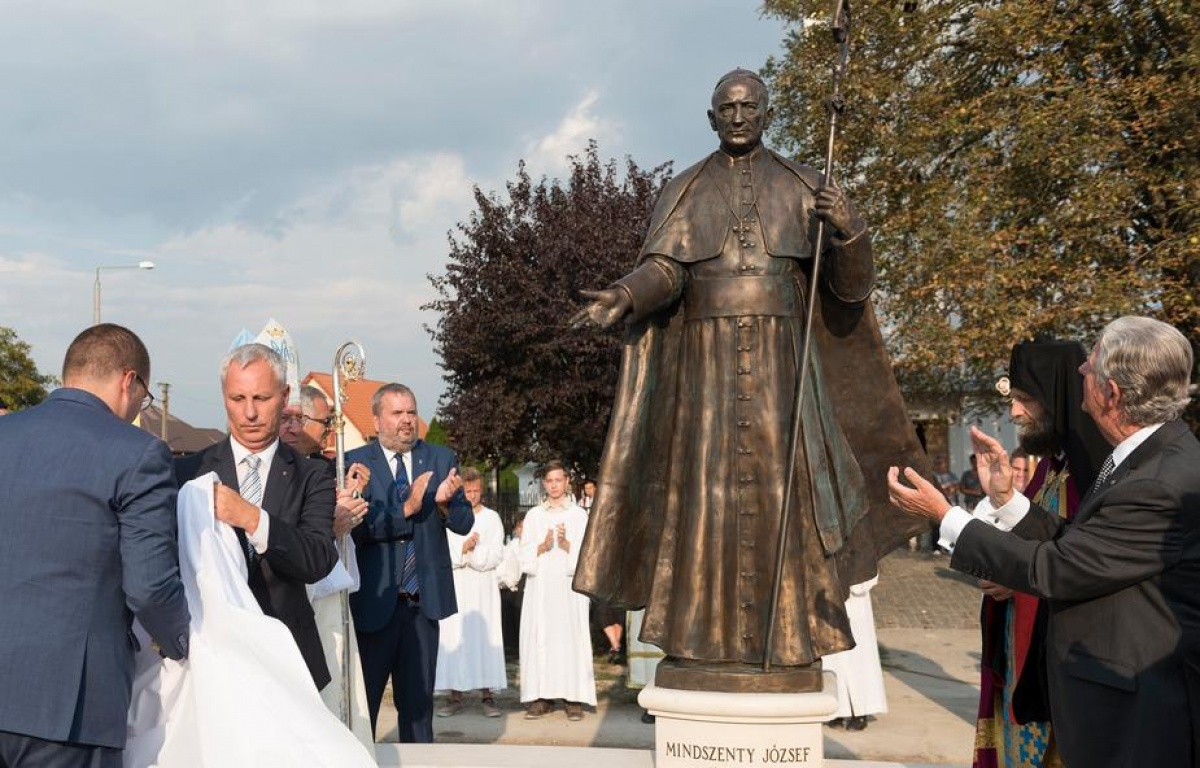 Monument to Mindszenty Inaugurated in Máriapócs post's picture