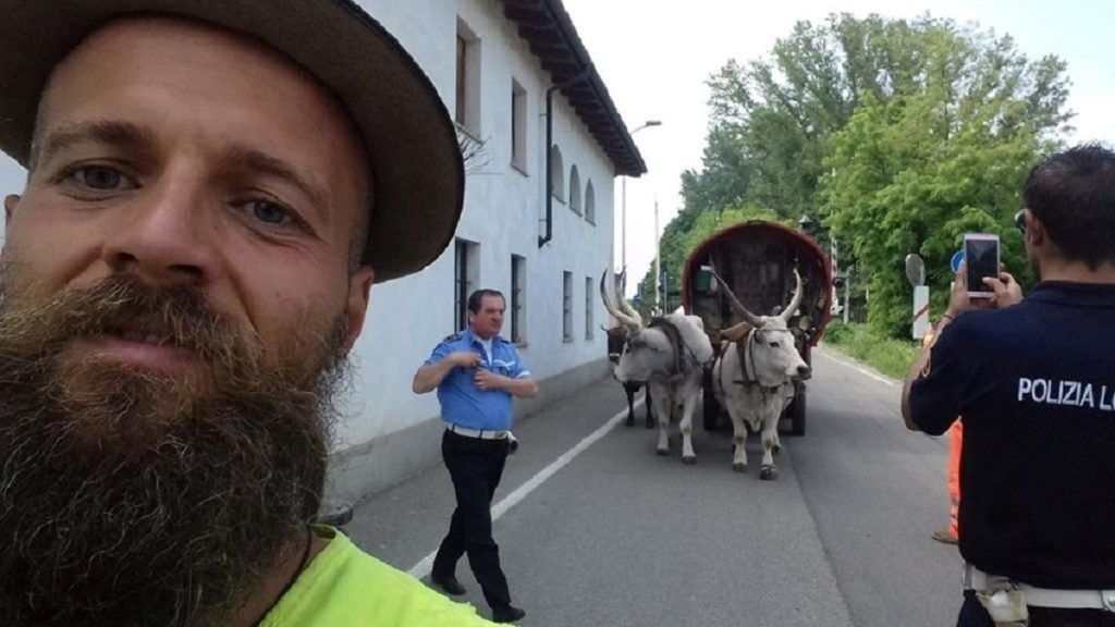 Famous Hungarian Nomad Gergő Balázs Gecse Killed While Traveling in France post's picture