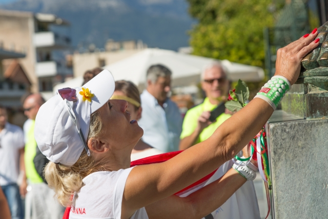 Hungarian Ultrarunner Zsuzsanna Maráz Won the Women's Race of Spartathlon, Tamás Bódis Finished Fourth post's picture
