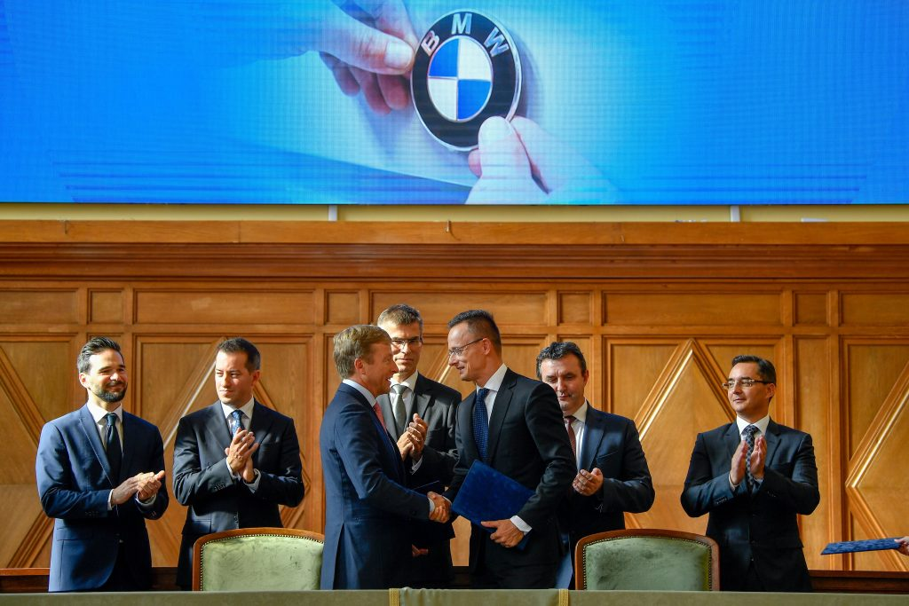 BMW to Start Building Debrecen Plant Next Year post's picture