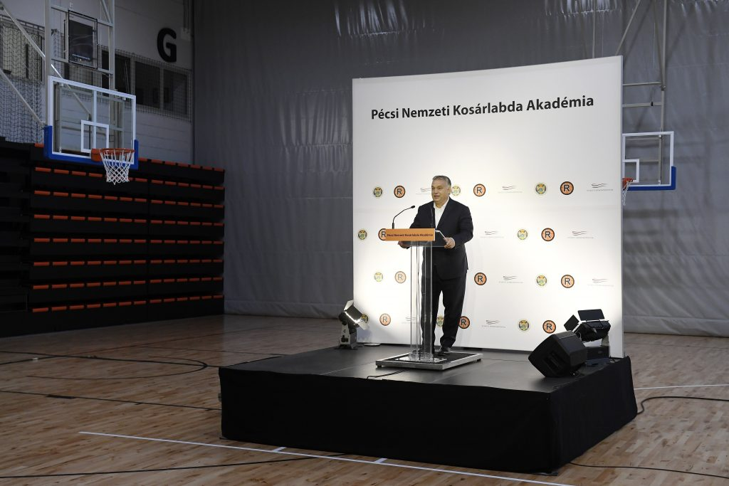 Orban Inaugurates National Basketball Academy in Pécs post's picture