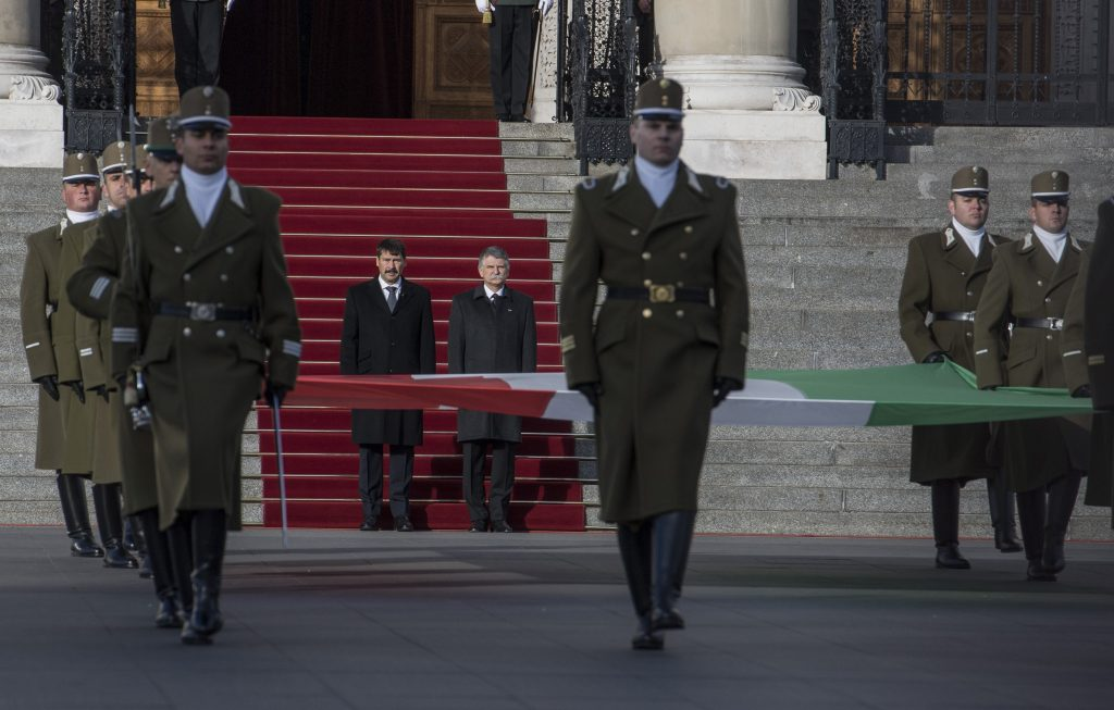 Hungary commemorates 1956 uprising, flag hoisted at Parliament post's picture