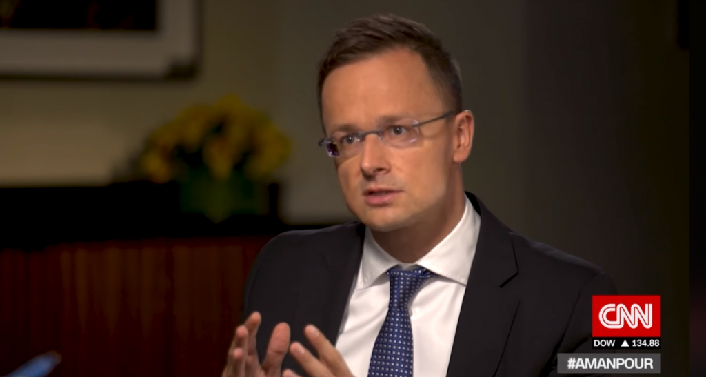 Szijjártó on CNN: 'We Have Been a Christian Country for a Millennium and We Don't Want to Change That' post's picture