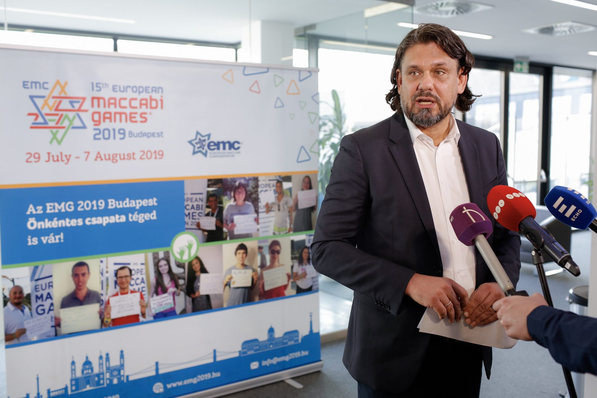 Patrons' Council for 2019 Maccabi Europe Games Founded post's picture