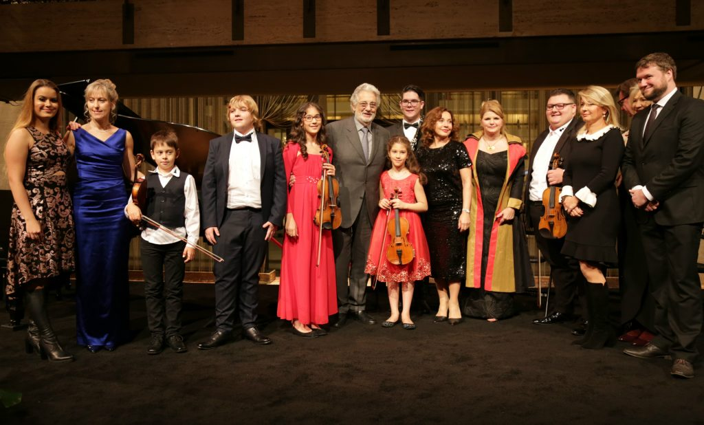 Young Hungarian Talents Perform in New York in Front of Placido Domingo post's picture