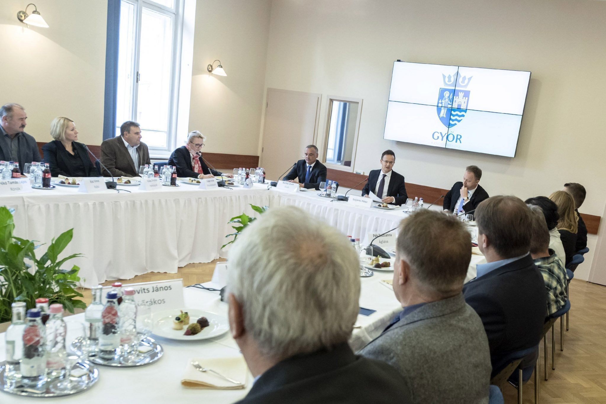 Szijjártó in Talks with Austrian Officials on Moves to Tighten Border Controls post's picture