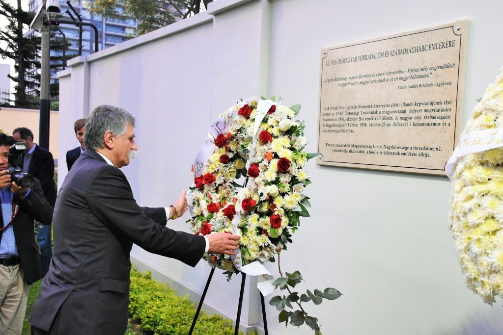 House Speaker Unveils 1956 Memorial in Lima post's picture