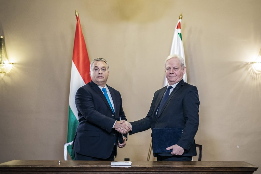 Orbán, Tarlós Sign Pact on Budapest Cooperation post's picture