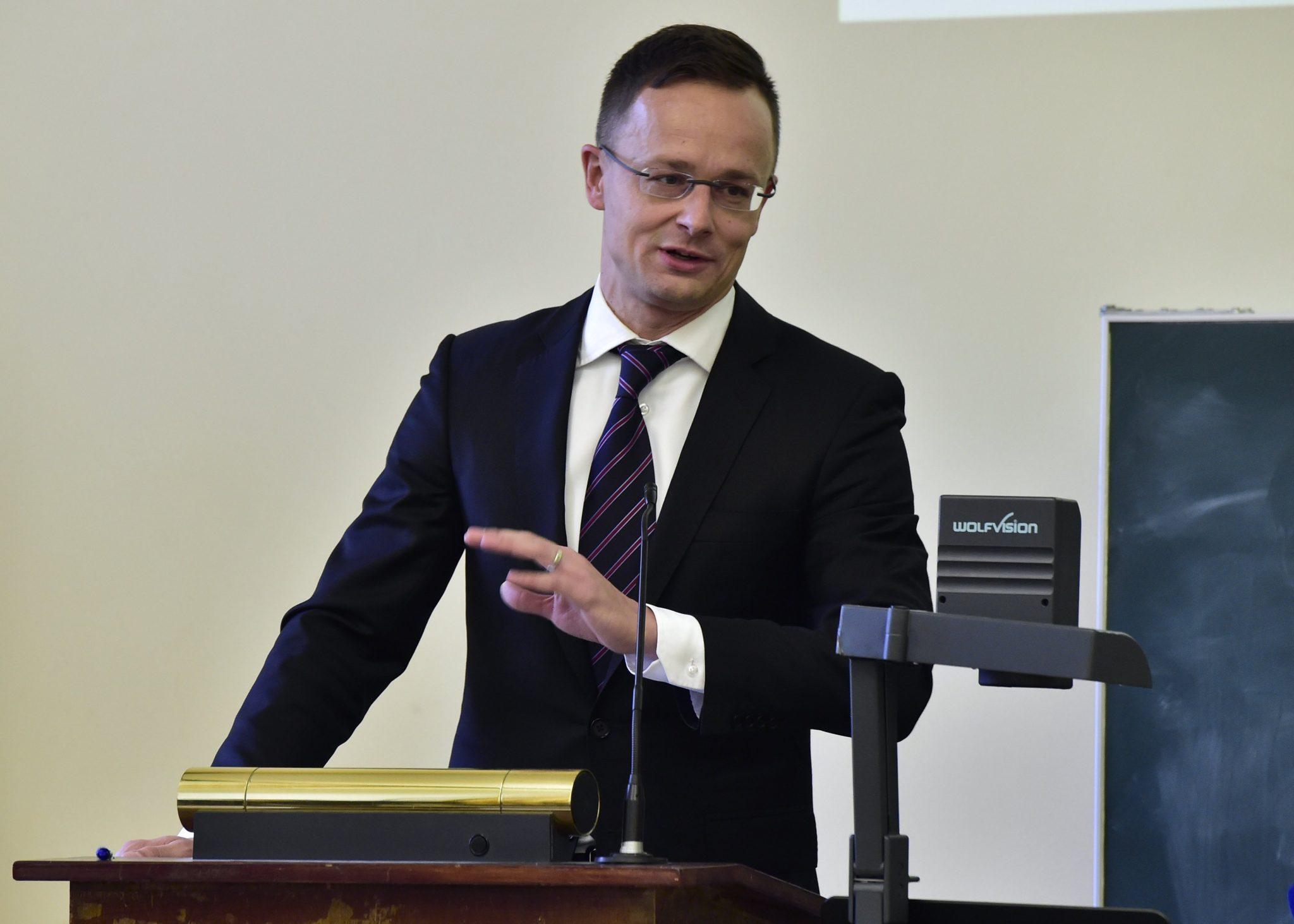 FM Szijjártó Named Honorary Professor at Kazakhstan's Gumilyov University
