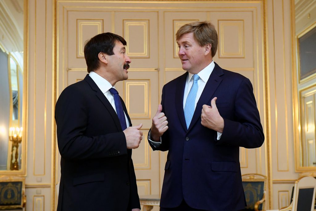 Áder Meets Dutch King, Discusses Climate Change post's picture