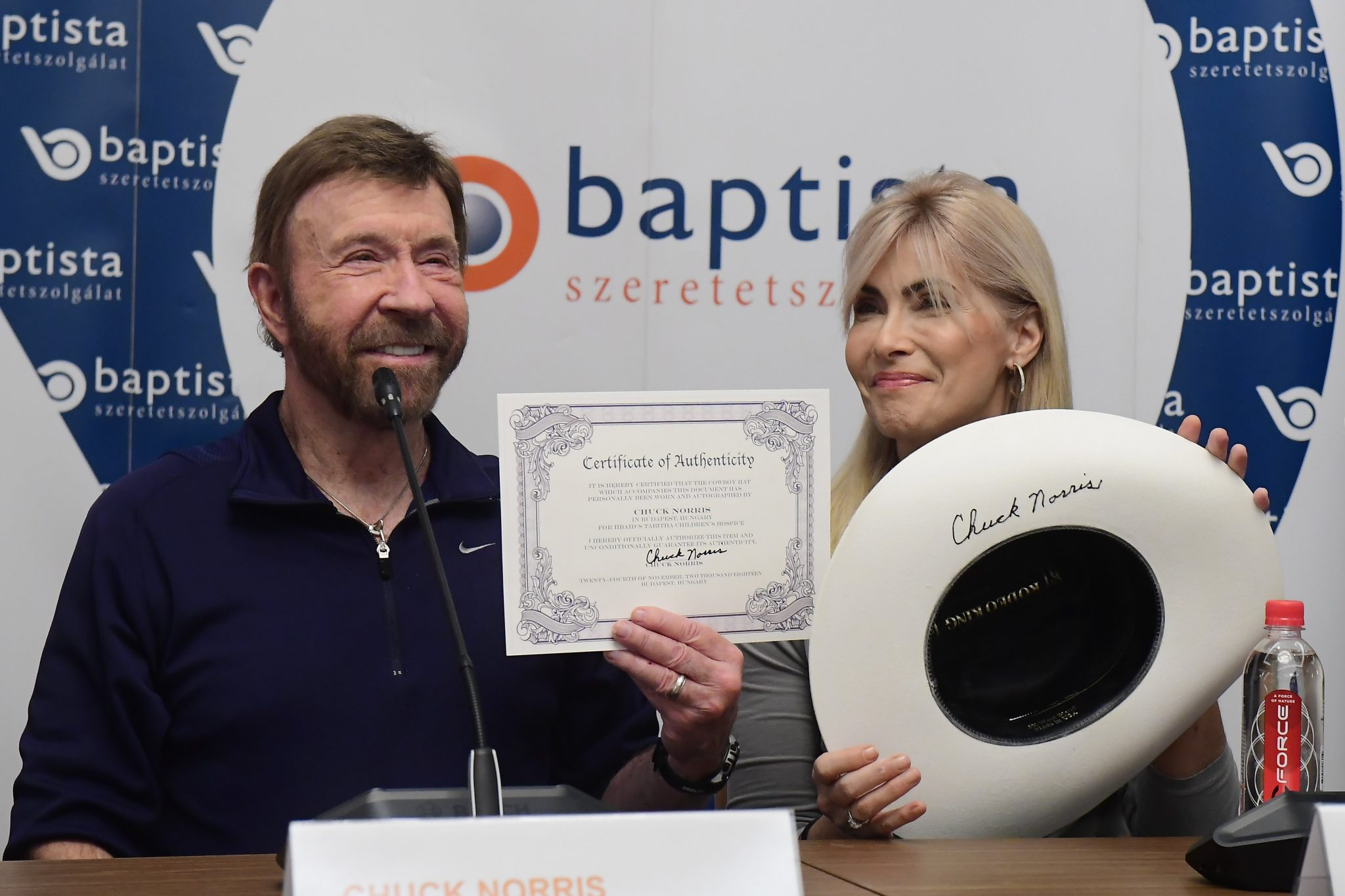 Legendary Actor and Internet Meme Star Chuck Norris Visits Hungary to Support Charity Initiative post's picture