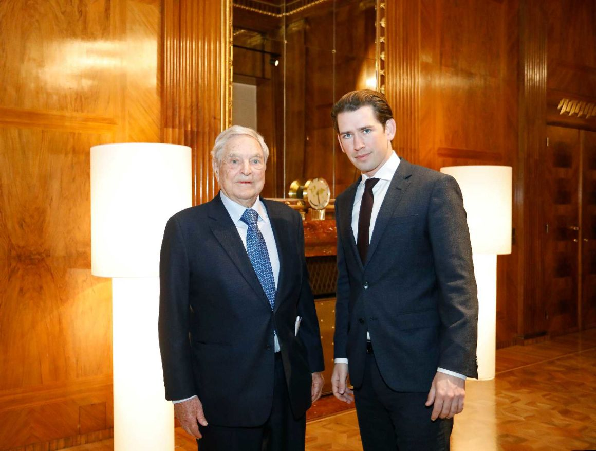 Soros and Kurz Discuss CEU's Future in Vienna post's picture