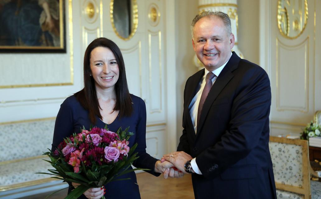 Slovak President Andrej Kiska Meets Hedvig Malina post's picture