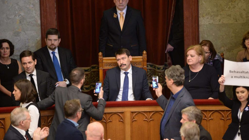 Opposition: Áder Only Represents Fidesz Interests post's picture