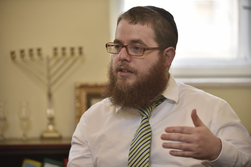 "Chief Rabbi Slomó Köves: ""Anti-Semitism is in Decline in Hungary"" post's picture"