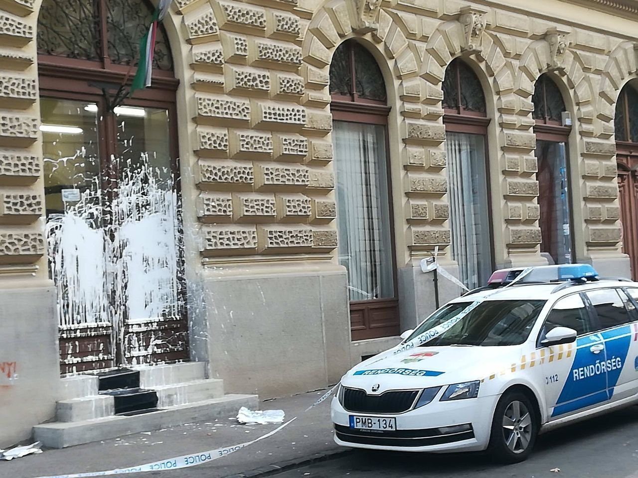 In the Wake of Demonstrations, Vandals Target Fidesz-KDNP Offices post's picture