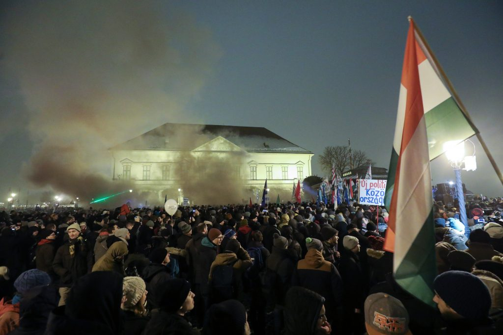 Anti-Government Demonstration: President Áder is PM Orbán's Puppet post's picture