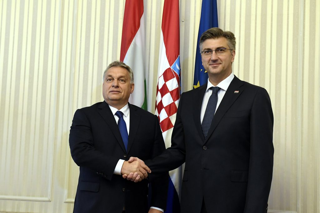 Orbán Congratulates Plenkovic on Re-election post's picture