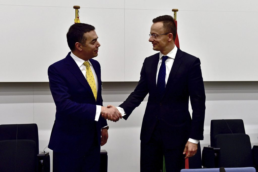 Szijjártó: Gruevski Asylum Legal Matter, Hungary Backs Macedonia NATO Accession post's picture