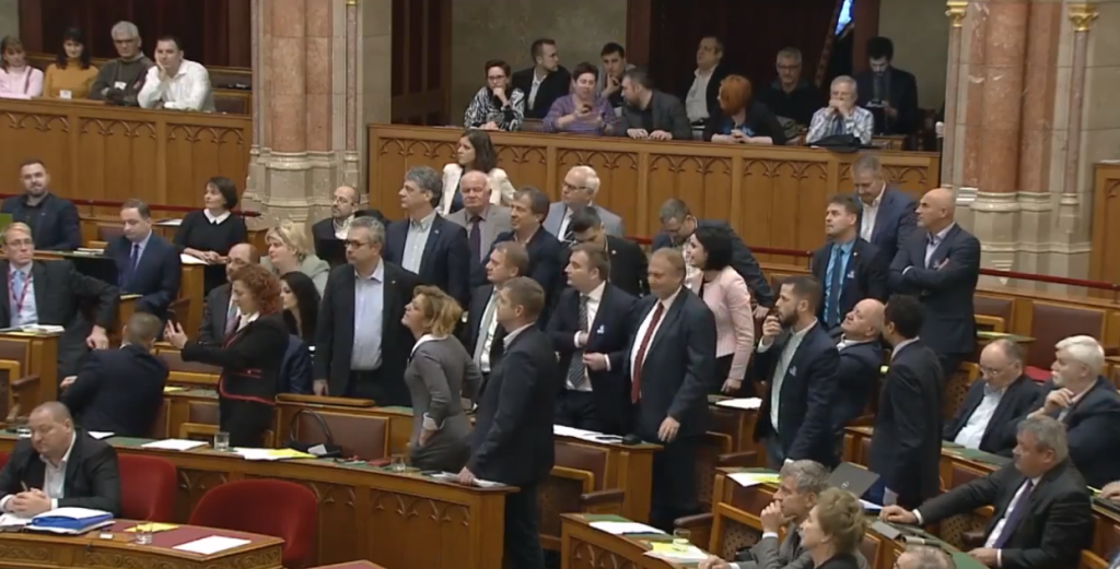 Opposition Boycotts Parliamentary Session after Amendments Rejected post's picture