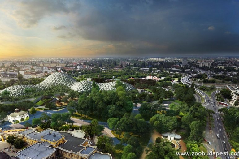 Liget Project's Pannon Park Biodome Awarded International Prize post's picture