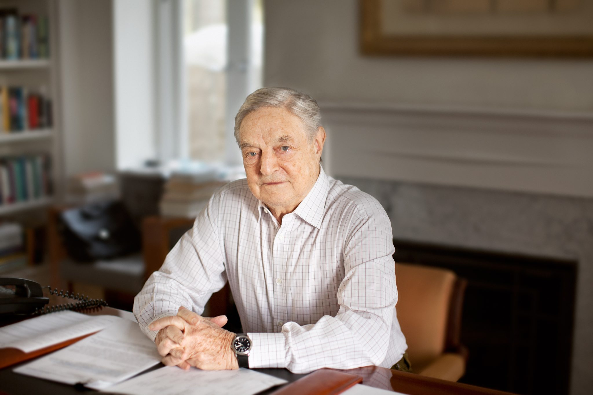 Financial Times Elects George Soros 'Person of the Year' post's picture
