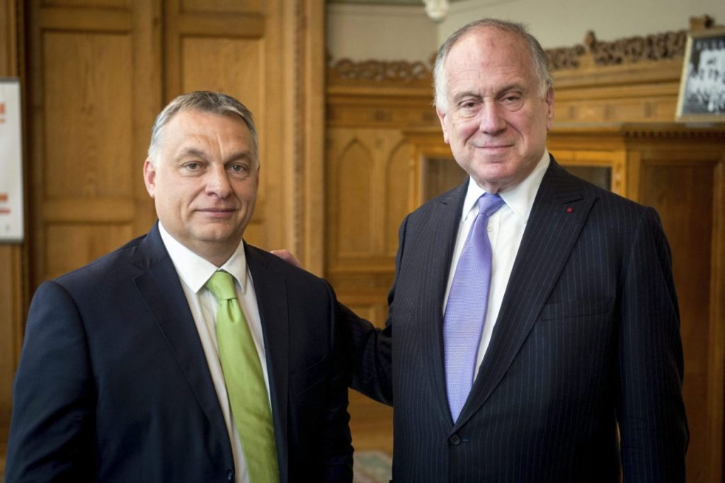 Orbán to Lauder: 'You're Asking Me to Limit Press Freedom' post's picture