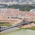 Liberty Bridge Replica Built on New Chinese Tech Campus