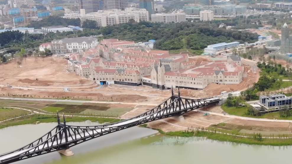 Liberty Bridge Replica Built on New Chinese Tech Campus post's picture