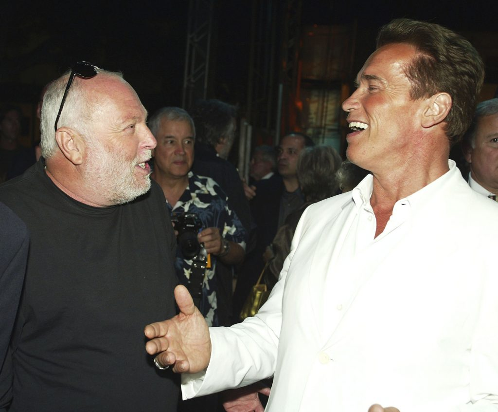 Schwarzenegger to Speak at Andy Vajna's Funeral post's picture