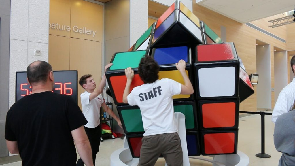 Human-Sized Rubik's Cube Sets World Record – Video! post's picture