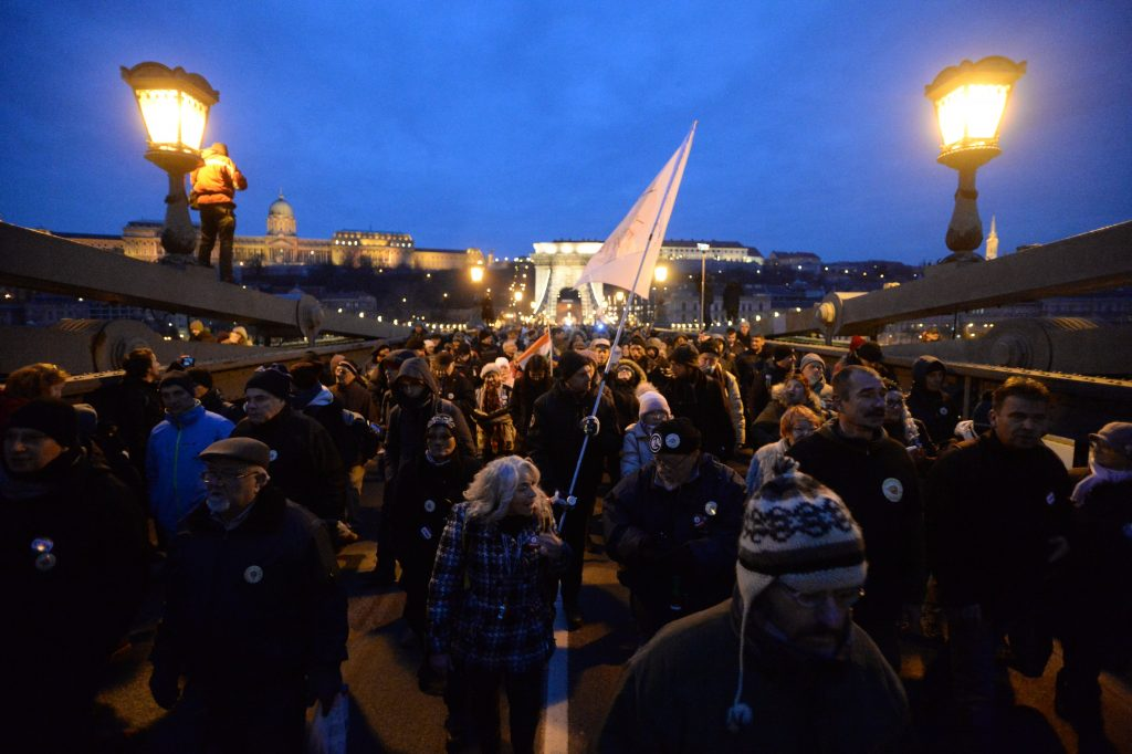 Protesters Call for Unity at Demo post's picture
