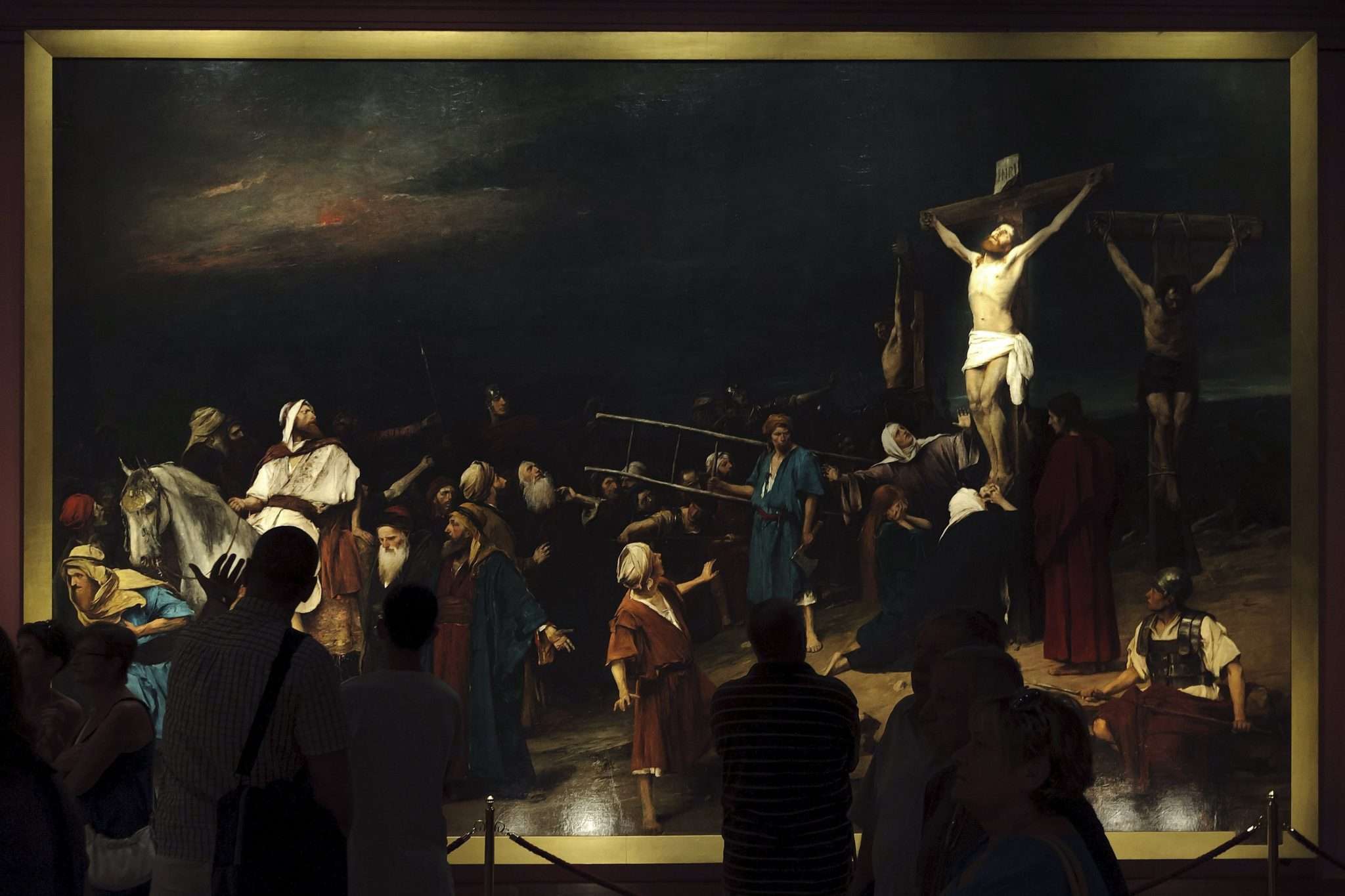 Govt Buys Munkácsy's Famous Painting Golgotha post's picture