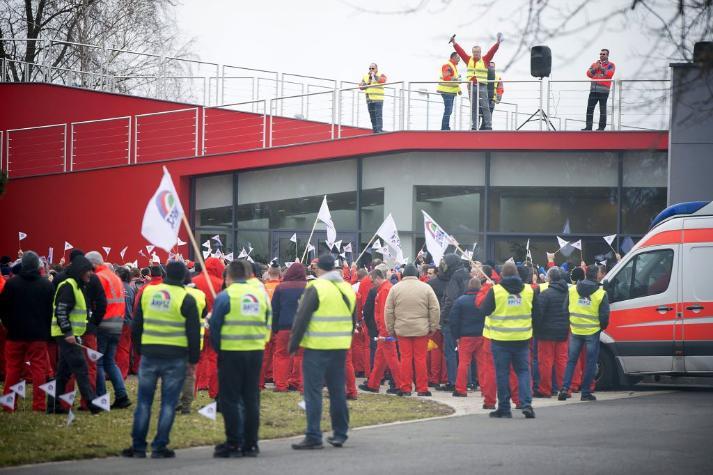 Strike in Hungary Forces Audi to Pause Production in Ingolstadt post's picture