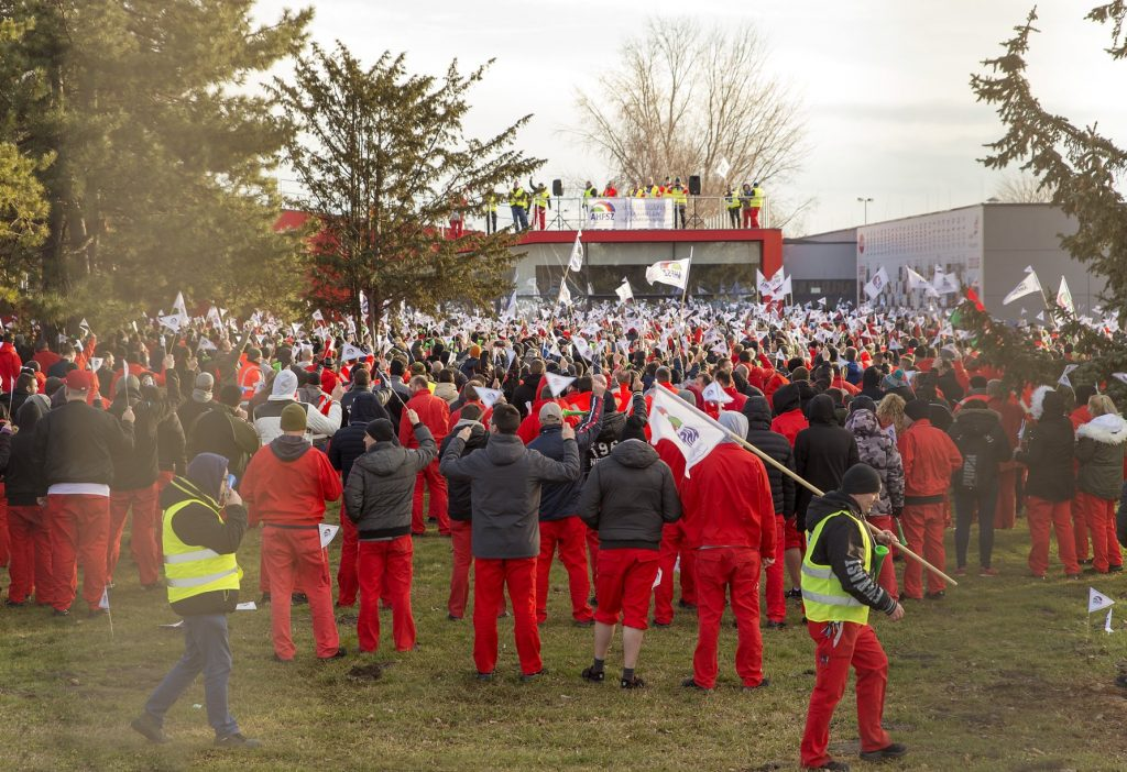 Audi Hungaria Strike Continues post's picture