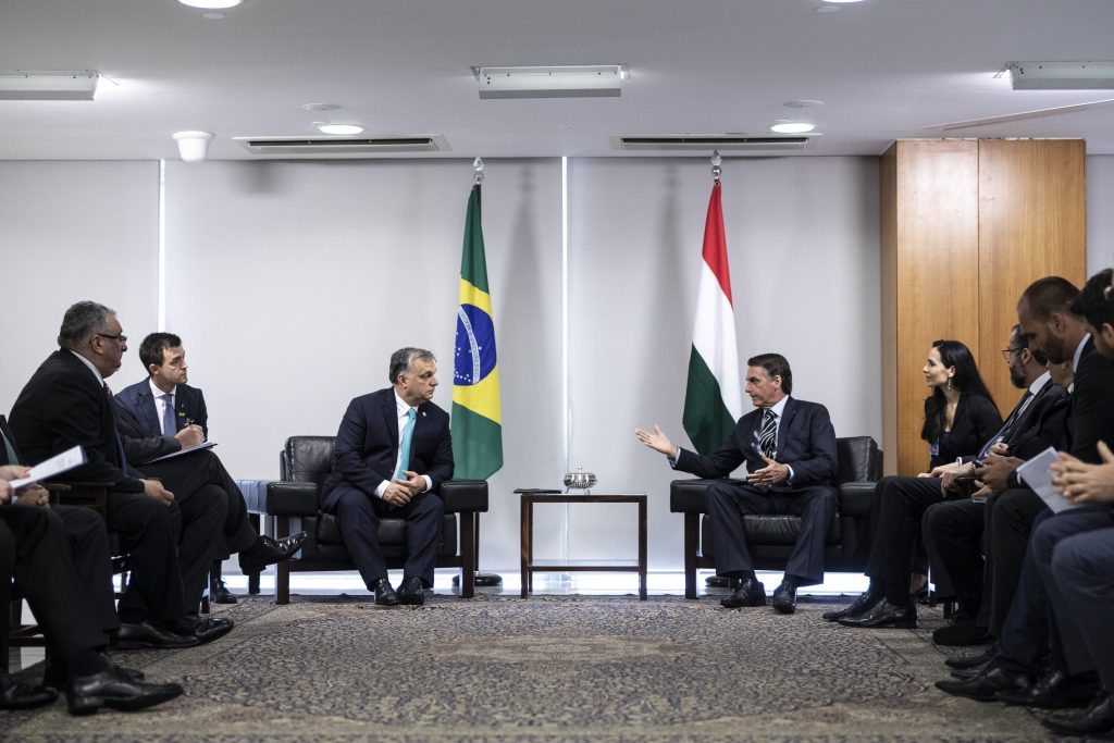 Orbán Holds Talks with Bolsonaro post's picture