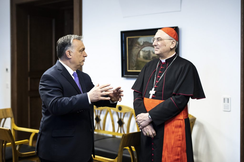 Orbán Holds Talks with the Apostolic Nuncio to Syria post's picture