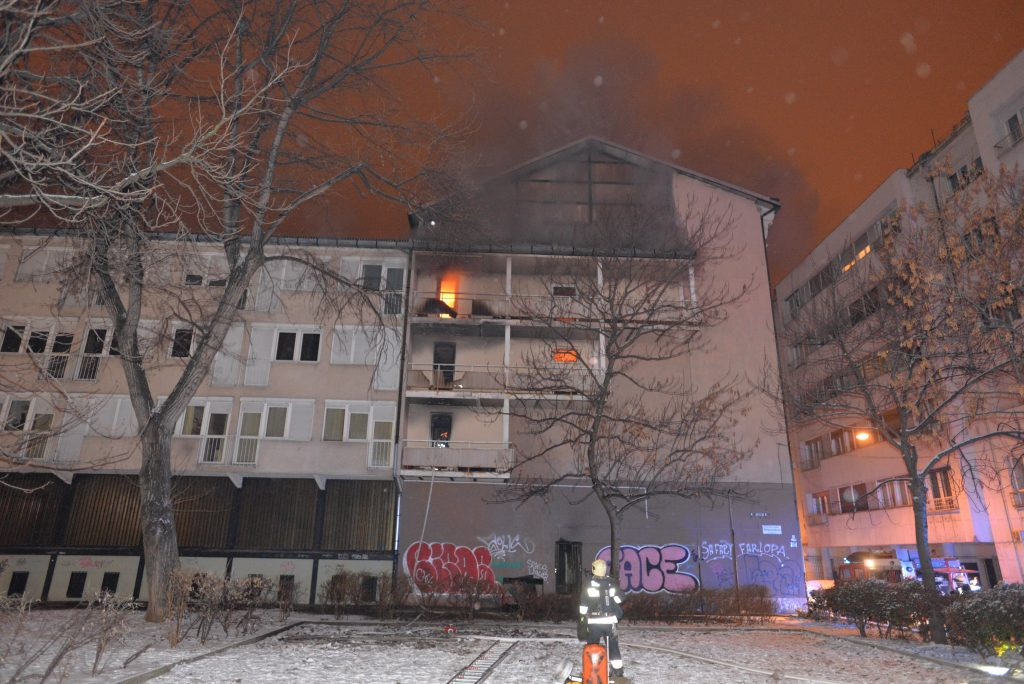Fire in Budapest Dormitory Leaves One Dead post's picture