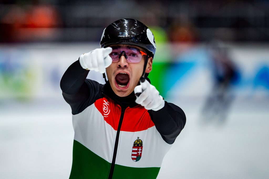 Team Hungary Tops Medal Table at Short Track Speed Skating EC post's picture