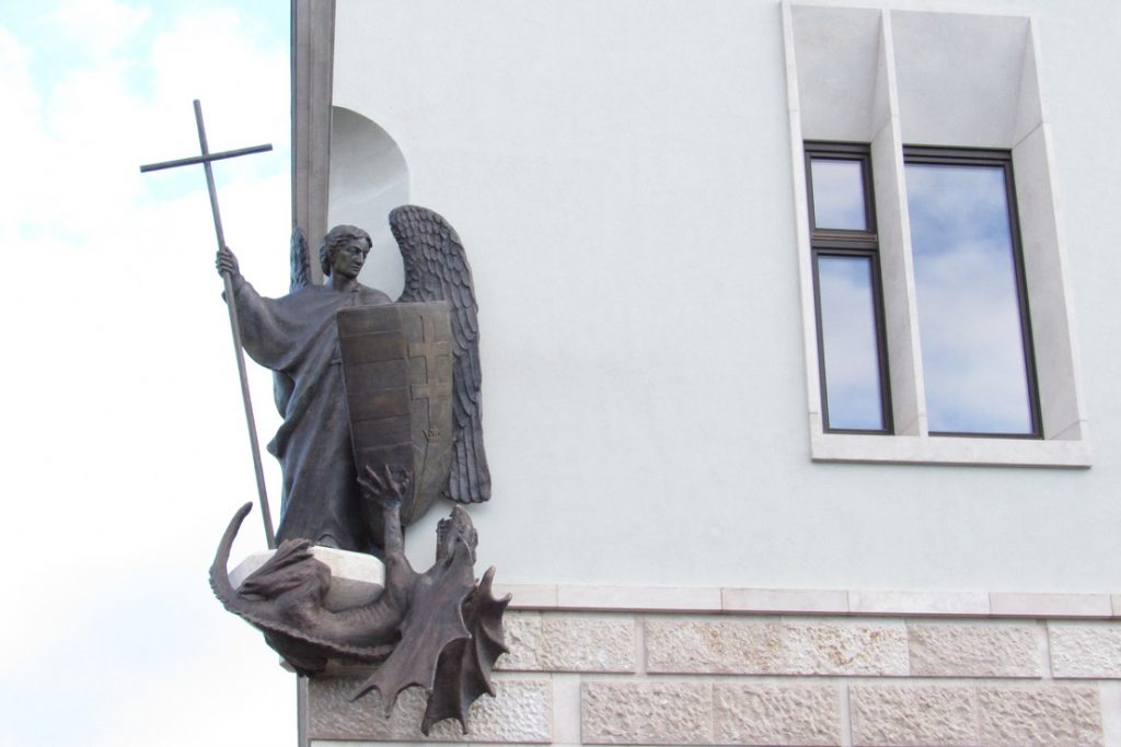 What Is St. Michael the Archangel Doing on the PM's New Office? post's picture