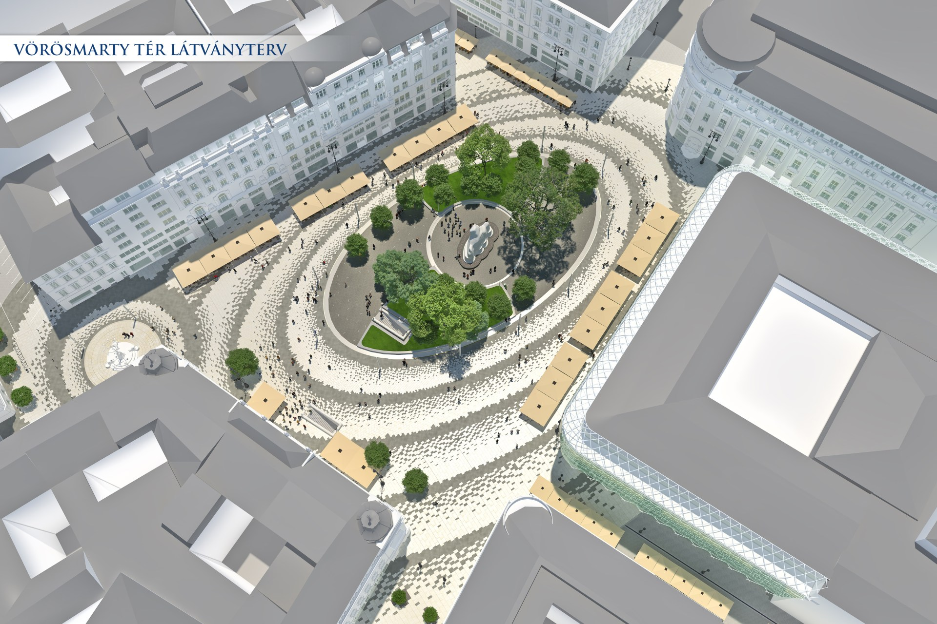 Revamp of Two Major Squares in Downtown Budapest Starts post's picture