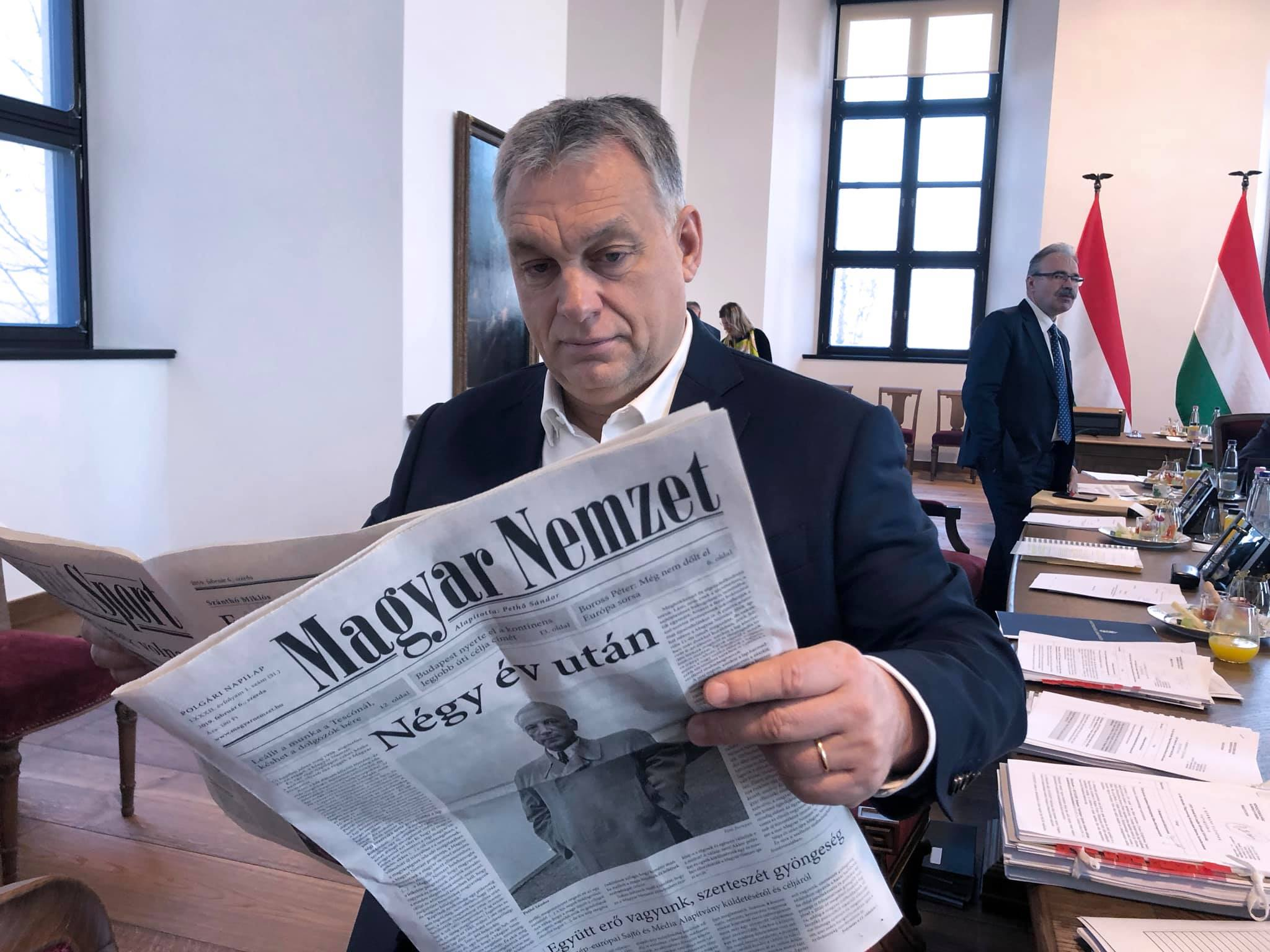 Political Daily 'Magyar Nemzet' Issued After 9-month Hiatus post's picture